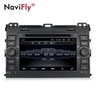 Free shipping!Quad core android8.1 car GPS dvd player for Toyota Prado 120 2004 2009 Radio Audio Stereo Head Unit