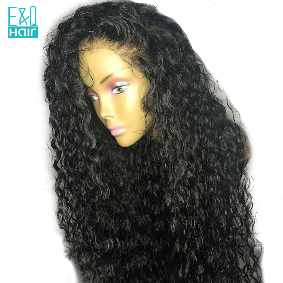 360 Lace Frontal Wigs For Women Indian Remy Curly Lace Front Human Hair Wigs Natural Hairline