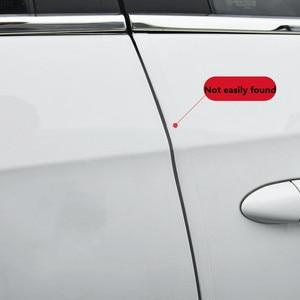Image 2 - 2019 New Open The Door Car Anti Collision Auto Door Collision Avoidance Stick Rubber Strip Decoration Stickers Car Accessories