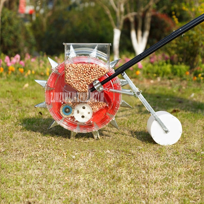 ZGD-S-350 Artificial Seeder Seed Planter Machine/ Hand Seeding Machine/ Manual Seeder Machine 3-8cm 8-15 Mu/day Hot Sale