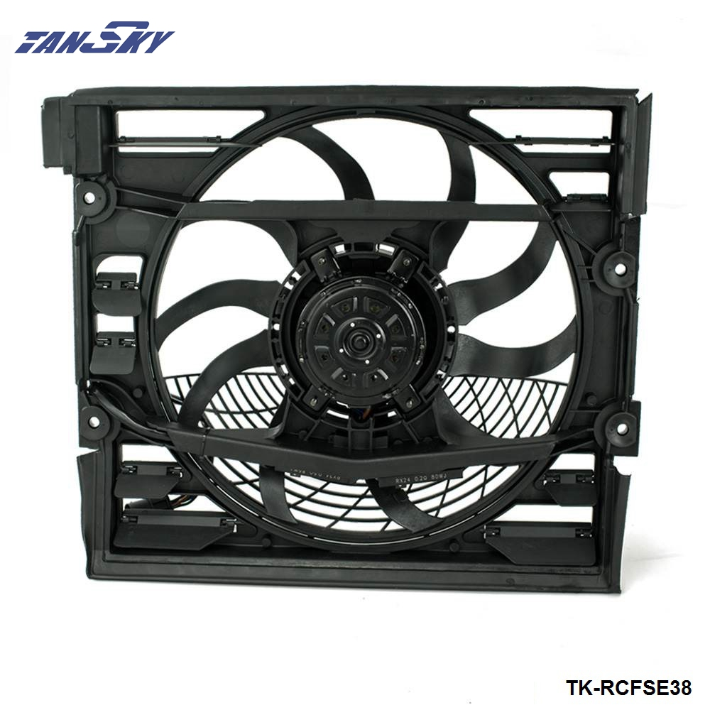 Engine Radiator <font><b>Cooling</b></font> <font><b>Fan</b></font> <font><b>Motor</b></font> Assembly 64548380774 FOR <font><b>BMW</b></font> E38 740 750 1996-1998 TK-RCFSE38 image