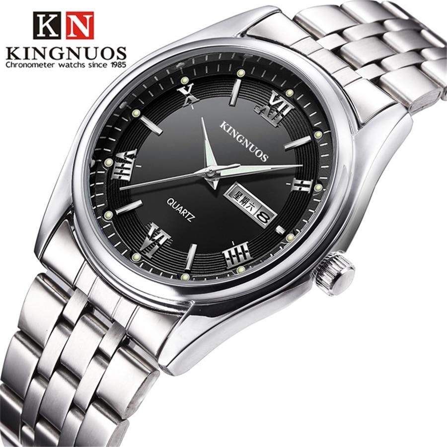 English Week Calendar Watch Fashion Quartz Men Watches Top Luxury Brand Famous Male Clock Wrist Watch For Men Hodinky Hours New