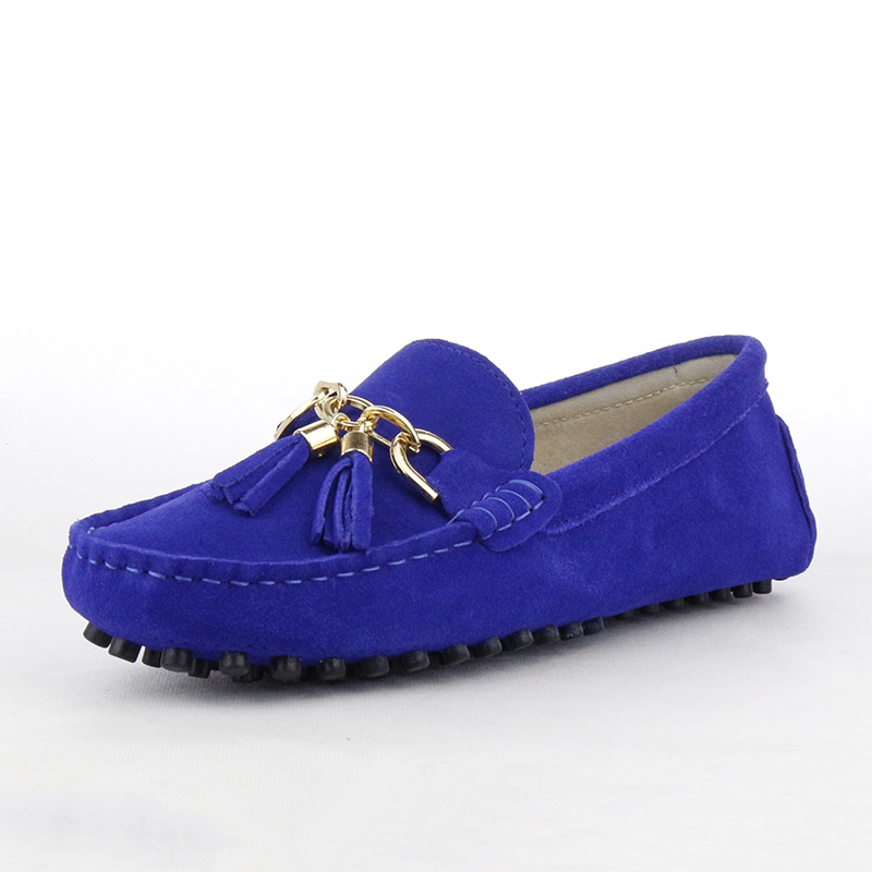 Casual Shoes Flats Moccasins Ladies Office Comfortable Real-Leather New Top-Quality