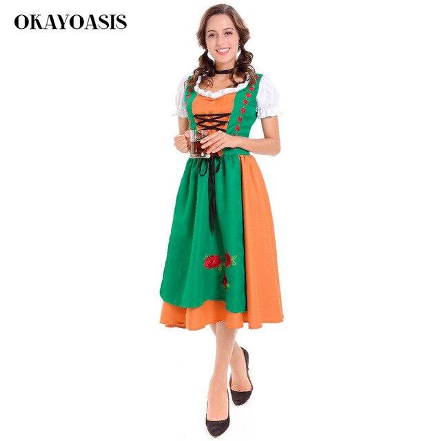 Oktoberfest Kostüme Werbe Kleidung Kellner Serviert Maid Cafe Sexy ...