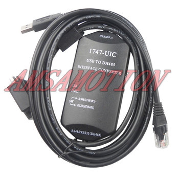 цена на Suitable for AB SLC series PLC programming cable 1747-UIC data cable USB-1747PIC download line
