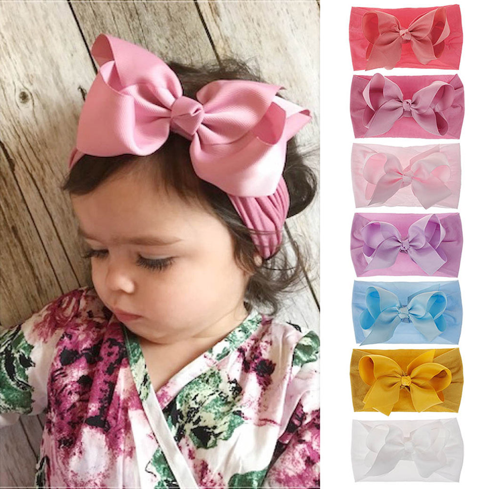 Mother & Kids Accessories Girls Hair Accessories Elastic Hair Ties Bands Band Bow Ball Plush Headband Cute Ribbon Hairbands Ring Rope Kids Hairband Carefully Selected Materials