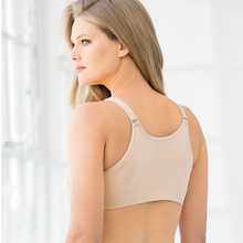 Women's Back-Smoother Bra Front Closure Big Size bh Wire Free Full Coverage Bras For Big Breasted Women