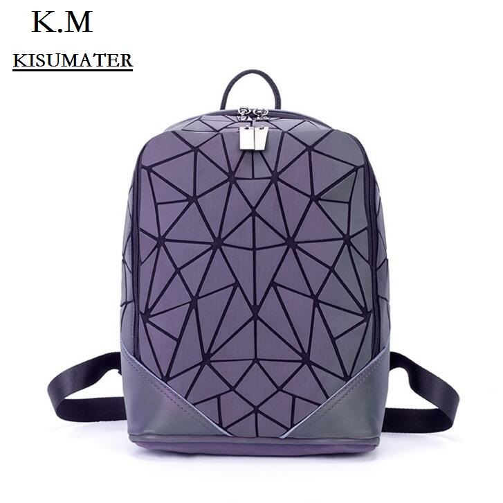 Students School Backpacks Womens  Geometry Backpack Luminous  Bag Casual backpack for girls Free Shipping Students School Backpacks Womens  Geometry Backpack Luminous  Bag Casual backpack for girls Free Shipping