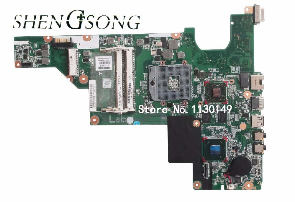 Free Shipping NEW for HP 431 Motherboard 631 CQ431 HM65 Laptop Motherboard 646672-001 100% Tested