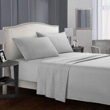 Jednokolorowy zestaw bielizny pościelowej narzuta + dopasowane prześcieradło + poszewka na poduszkę Queen/duży rozmiar 15 kolorów miękki wygodny zestaw pościeli