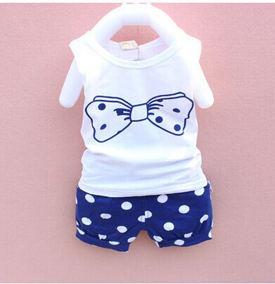 c6320d11e6a27 free shippingSpring and summer 0 1 2 years old female baby girls half years  3 6 months one year old baby clothes set clothing-in Clothing Sets from  Mother ...
