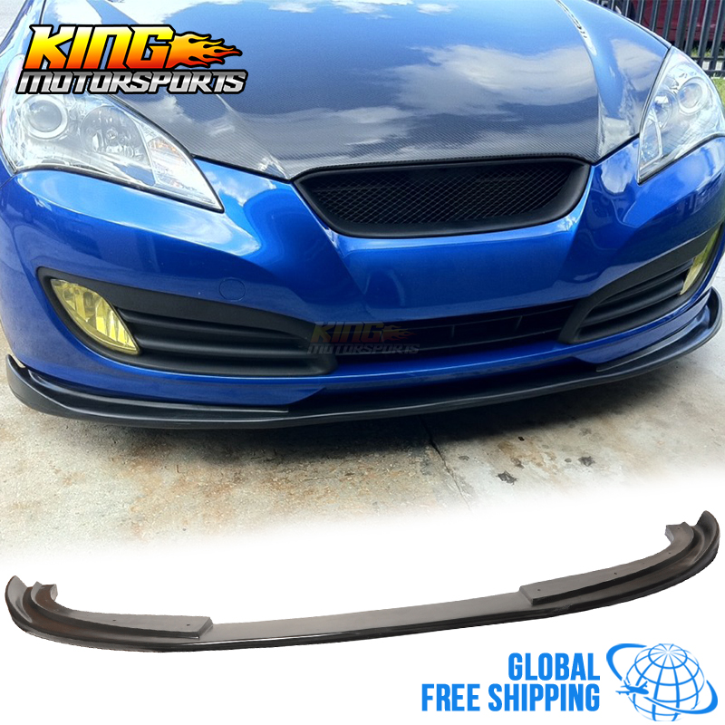 Fit For 10-12 Hyundai Genesis 2Dr Coupe Front Bumper Lip Spoiler Urethane Global Free Shipping Worldwide for porsche 996 911 turbo carrera 4 4s front bumper lip spoiler urethane bodykit global free shipping worldwide