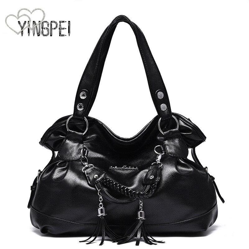 Women Bag Designer New Fashion Casual axelväska Lyxiga kvinnor - Handväskor - Foto 2