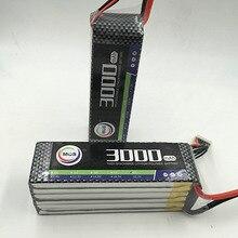 MOS 5S lipo battery 18 5v 3000mAh 25C For rc airplane free shipping