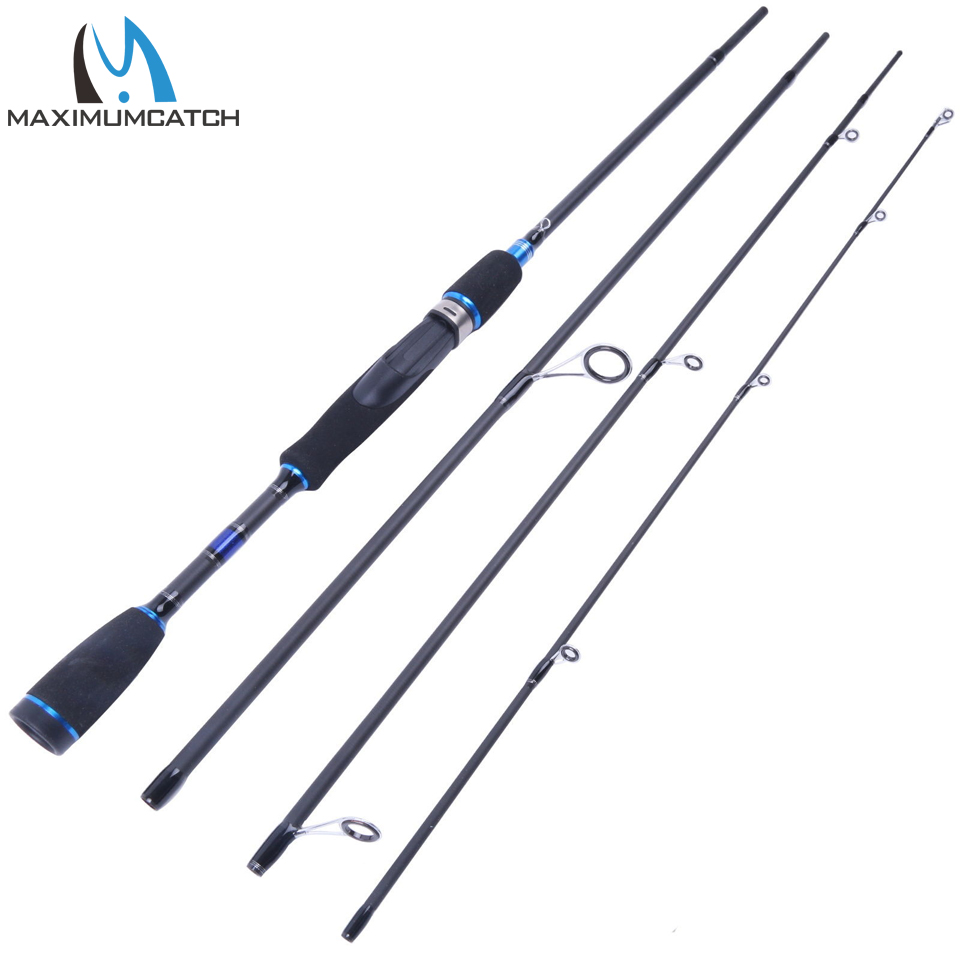 Maximumcatch 69 Spinning Rod Lure Weight 10-30g Graphite Fishing Rod 4Pieces Portable Rod Lure Fishing