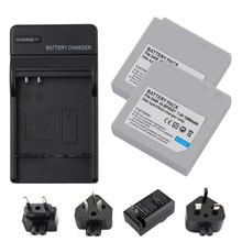 2Packs IA-BP85ST Li-ion Battery 7.4V Battery Charger with LED For Samsung VP-MX10 SMX-F30 SMX-F33 L20 все цены