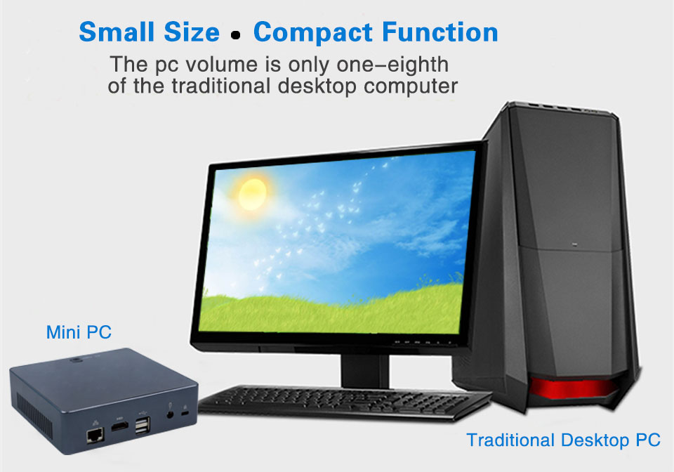 Mini PC 4K 13