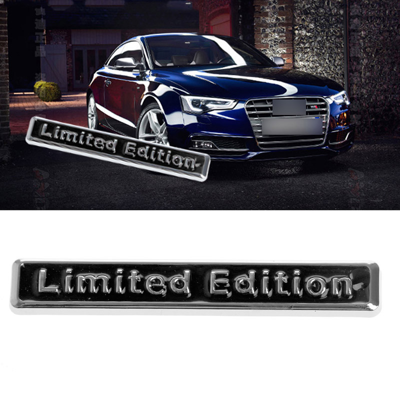 1Pc 3D Metal Auto Car Sticker Badge Decal Motorcycle Stickers Chrome Car-styling Stickers New
