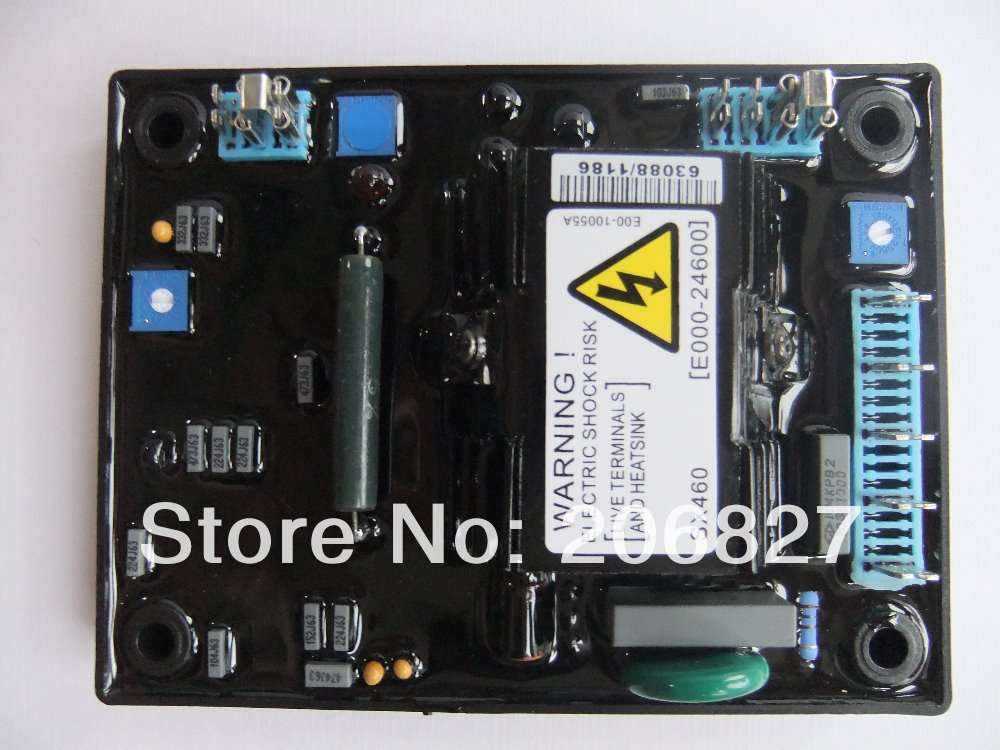 AVR SX460 FOR GENERATOR (common CARTON) SUPPLIER MADE IN CHINA FREE SHIPING TO USA sx460 free shipping