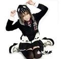 Мило! аниме Япония Harajuku Готический Панк Кошачьи уши Печати harajuku Кофты С Капюшоном