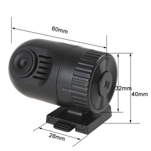 Mini HD 120 Degree Wide Angle LENS G-sensor Dash Cam