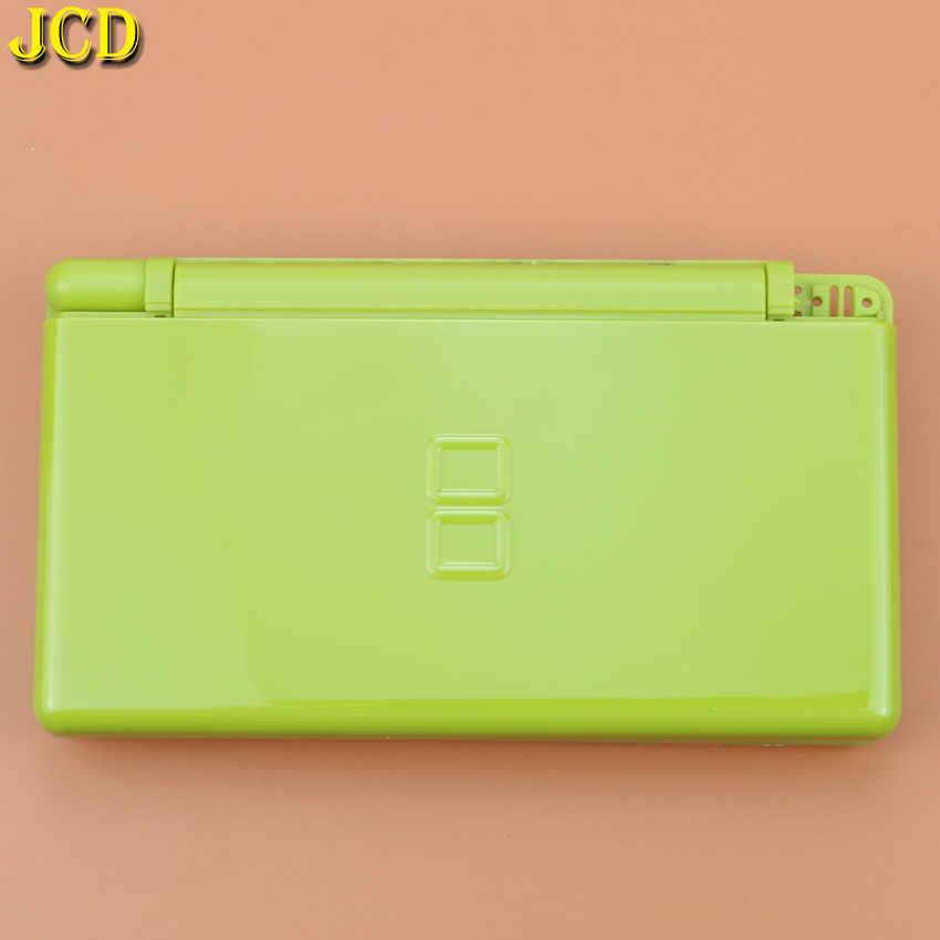 JCD 1 قطعة لعبة كاملة حماية الحالات طقم أغطية الإسكان لنينتندو DS لايت NDSL إصلاح استبدال قذيفة