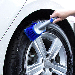 Image 4 - 1x Auto Car Wheel Cleaning Brush Tool Tire Washing Tyre Maintenance Soft Cleaner