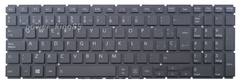 New notebook Laptop keyboard for Toshiba Satellite L50-C L50D-C L50T-C SP  layout new laptop keyboard for toshiba satellite pro a200 a210 l300 l300d l50 a l510 m300 qwertz hungarian layout