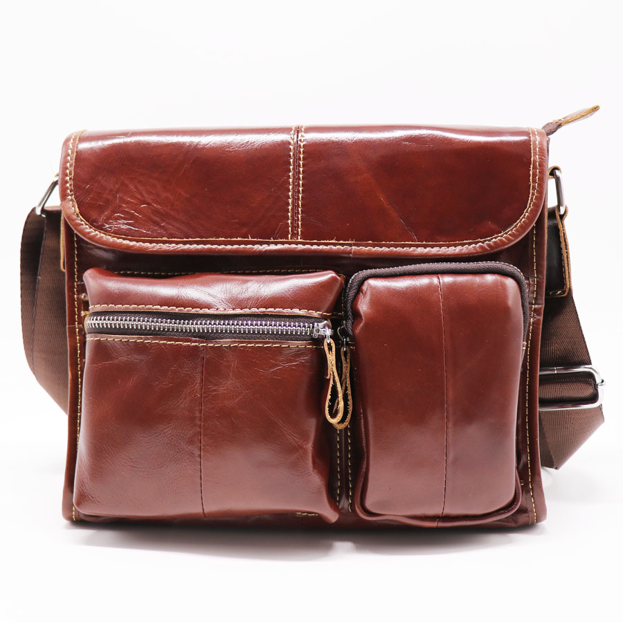 Brand Genuine Leather Casual&Business Bag Men's Cross Body Shoulder Bags Male Cowhide Messenger Bags Travel Pack brand genuine leather 9 casual travel bag men s cross body shoulder bag male cowhide messenger bags belt waist pack case