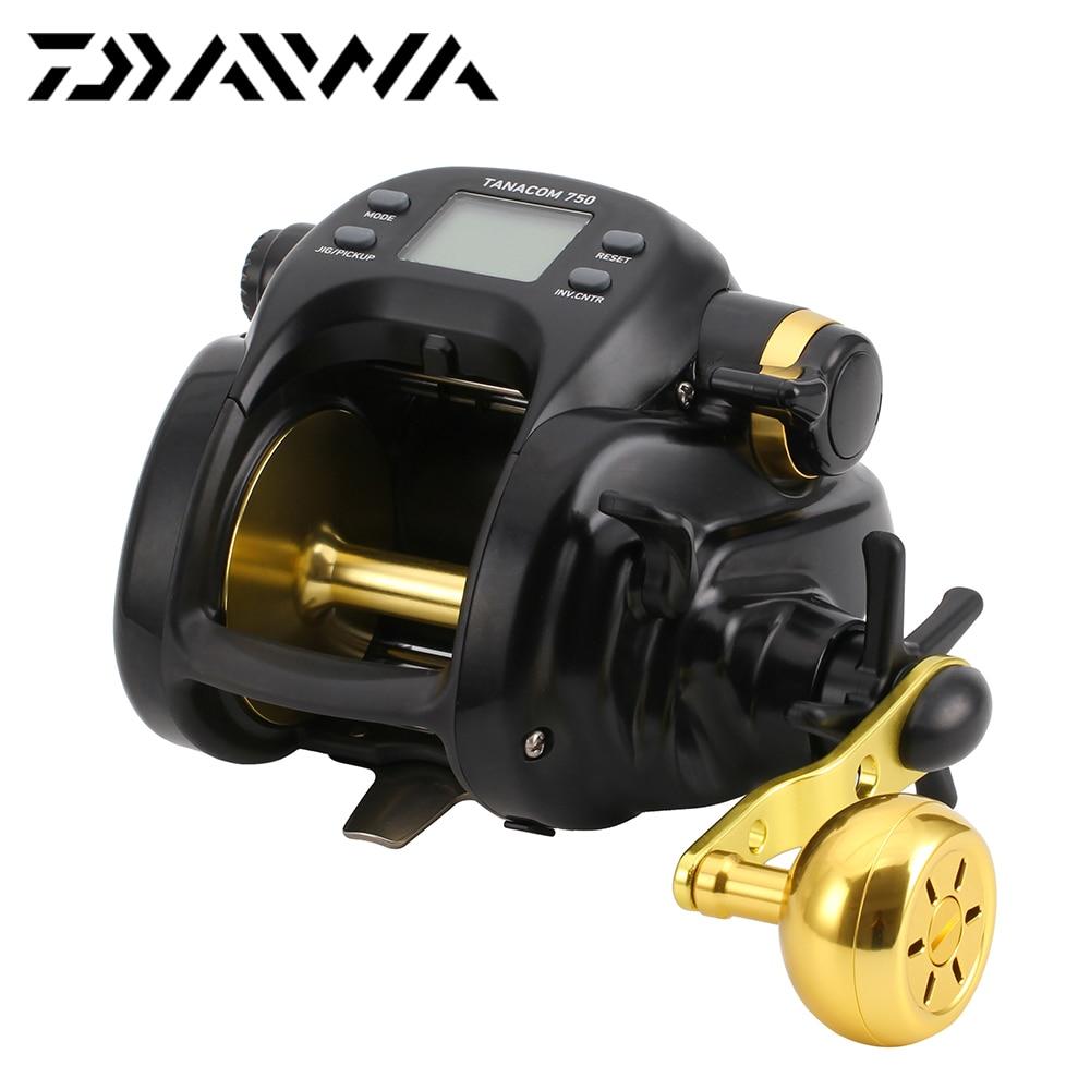 DAIWA 100 Original TANACOM 750 Fishing Reel 4BB 20KG Max Drag 2 3 1 Electric Count