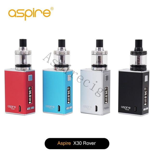 100% Original Aspire Nuevo Cigarrillo Vapor Aspire X30 Rover Kit Con 2 ML con Nautilus Tanque X Y 2000 mAh MOD 1 Unids/lote NX30