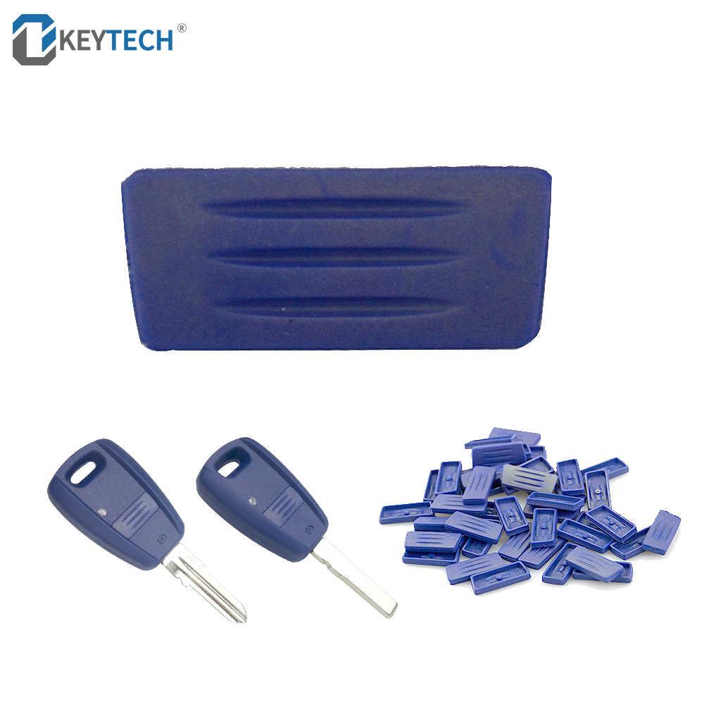 OkeyTech Auto-onderdelen Accessoires Sleutel Knop Pad Vervang Remote Key Case Shell Case Rubber Pad voor Fiat Auto Sleutelhanger gratis Verzending