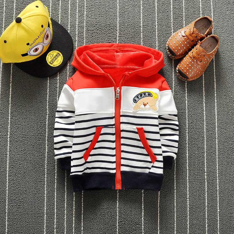 Spring-Boys-Cartoon-Bear-Stripped-Hooded-Cap-Jackets-Cardigan-Baby-kids-Infant-Long-Sleeve-Children-Outwear-Coat-S2713-2