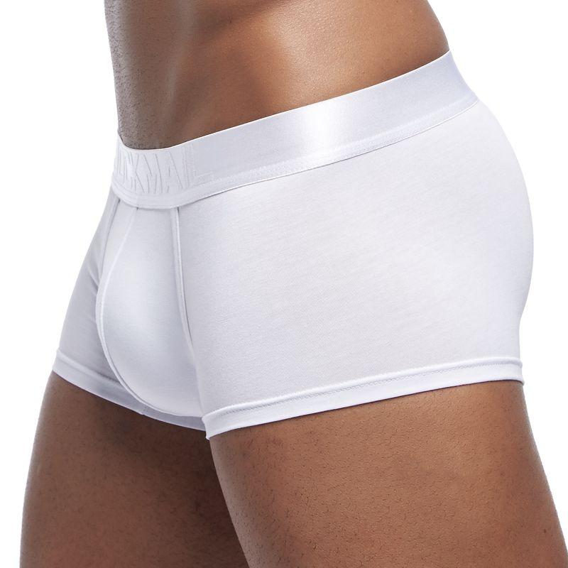 JOCKMAIL New Sexy Men Underwear Boxer Breathable Mesh Boxershorts Men Male Underpants Cueca Gay Penis Man Panties Mens Trunks