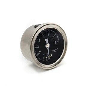 Image 2 - CNSPEED Fuel Pressure Regulator Gauge with pointer 0~8 black face YC100491