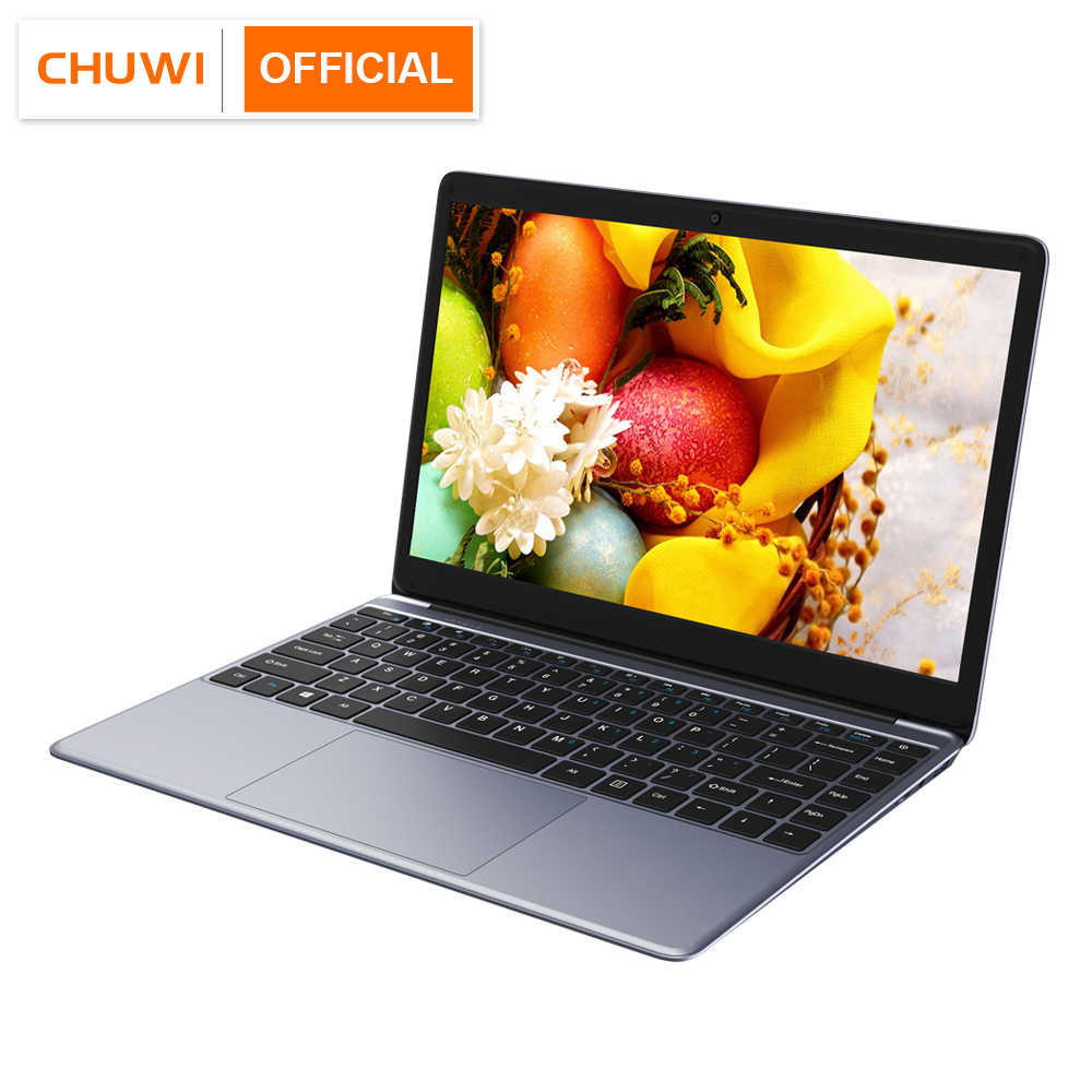 CHUWI HeroBook 2019 14.1 Inch 1920*1080 Window10 OS Intel Quad Core 4GB RAM 64GB ROM Laptop 38Wh Mini HD M.2 Uitbreiding