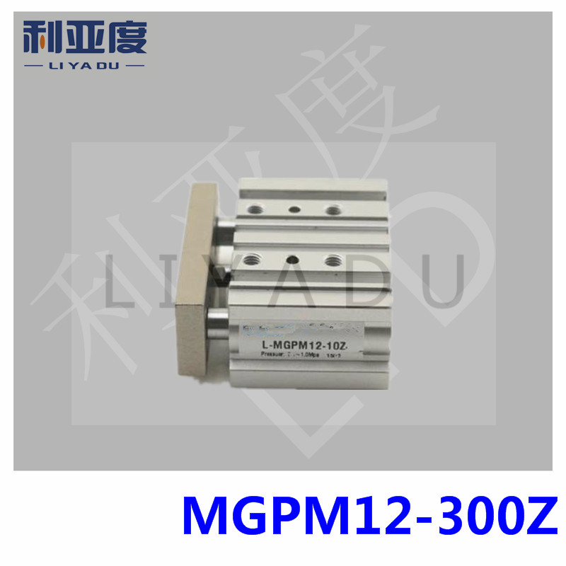 Type MGPM12-300 Thin cylinder with rod Three axis three bar MGPM12*300 MGPL12*300 Pneumatic components MGPM12X300 MGPL12X300 mgpm12 250z mgpm12 175z thin cylinder with rod three axis three bar pneumatic components 12mm bore mgpl12 175z mgpl12 200z