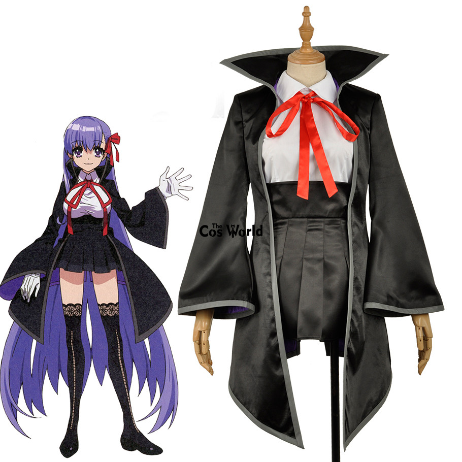 FGO Fate Grand Order EXTRA Moon Cancer BB Uniform Coat Shirt Skirt Outfit Anime Cosplay Costumes