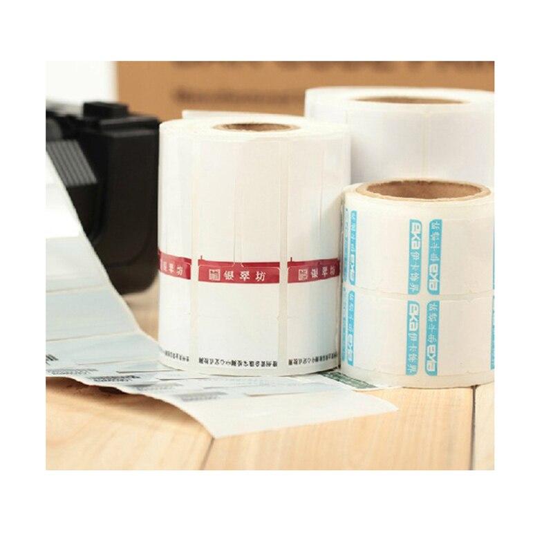 Customized CMYK Printing Logo Fasson Label Good Quality