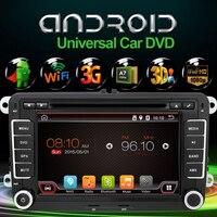 6.0 חדש 7 אינץ 2 דין אנדרואיד 800*480 Quad Core 4 GPS DVD לרכב עבור פולקסווגן פאסאט B6/B7/פאסאט CC עם WiFi ו כרטיס והמפה משלוח 8 גרם