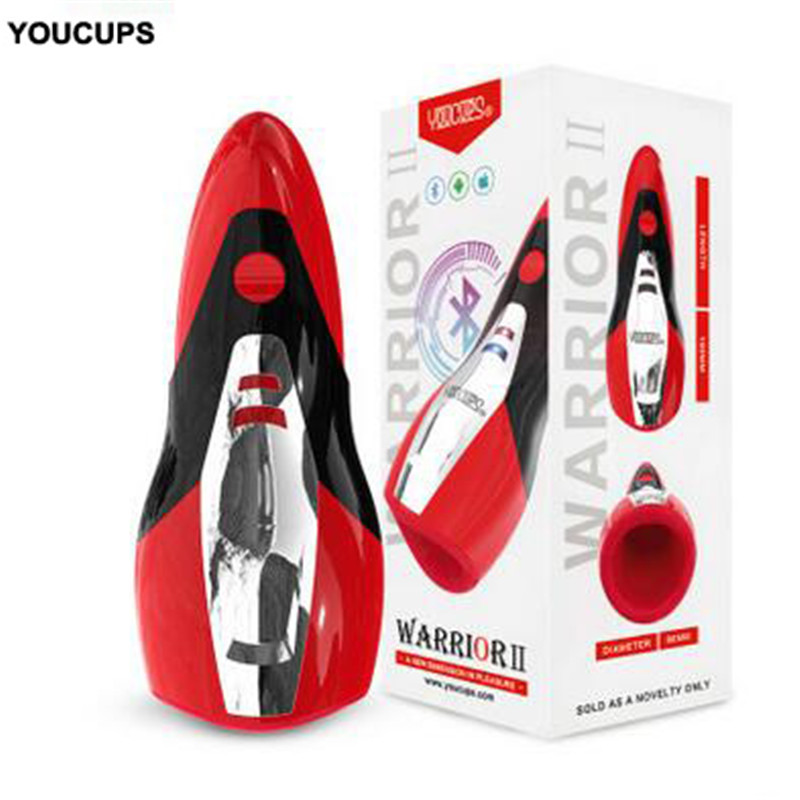 YouCups Intelligent APP Adult sex toys for men Artificial Vagina real pussy Male automatic Masturbator for man Mens sex toys implement artificial intelligent optimization techniques with matlab