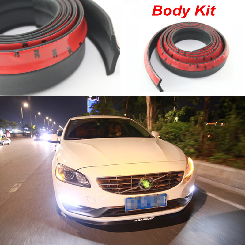 Auto Car Front Lip Deflector Lips Skirt For Volvo S40 S40L S60 S70 S80 S90 V40 V50 V60 V90 Spoiler Lip Spliter Valance Surround car computer screen display projector refkecting windshield for volvo c70 s40 s60 s70 s80 s90 v40 v70 v90 xc70 driving screen