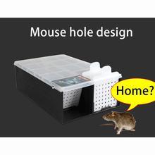 連続マウストラップなしキルマウスラットキャッチャーリサイクルプラスチック複数マウスマウストラップ