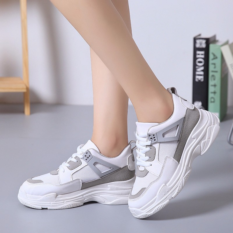 fashion Sneakers Women Shoes Vulcanize Dad female  Chunky  Platform Thick Sole Ladies Casualfashion Sneakers Women Shoes Vulcanize Dad female  Chunky  Platform Thick Sole Ladies Casual