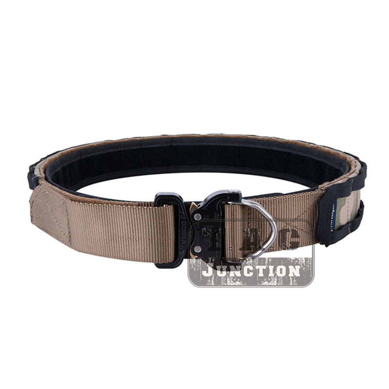 Emerson Tactical Cobra Buckle Combat Belt 1.75 inch and 2 inch Multi Functional Duty Belts Patrol Rigger Belt Hunting