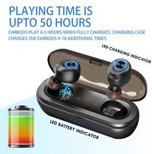 Image 2 - Anomoibudsカプセルプロ50時間プレイタイムaac tws bluetooth V5.0ヘッドホンワイヤレスアンドロイドiphone