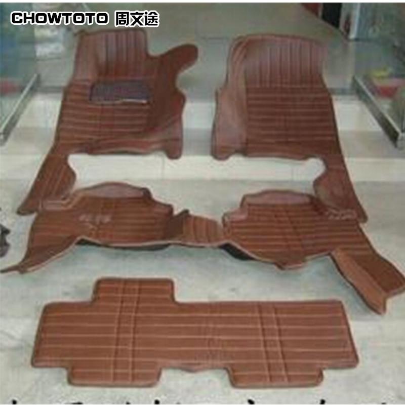 CHOWTOTO AA Tappetini auto su misura per Mitsubishi Pajero Sport 7 - Accessori per auto interni