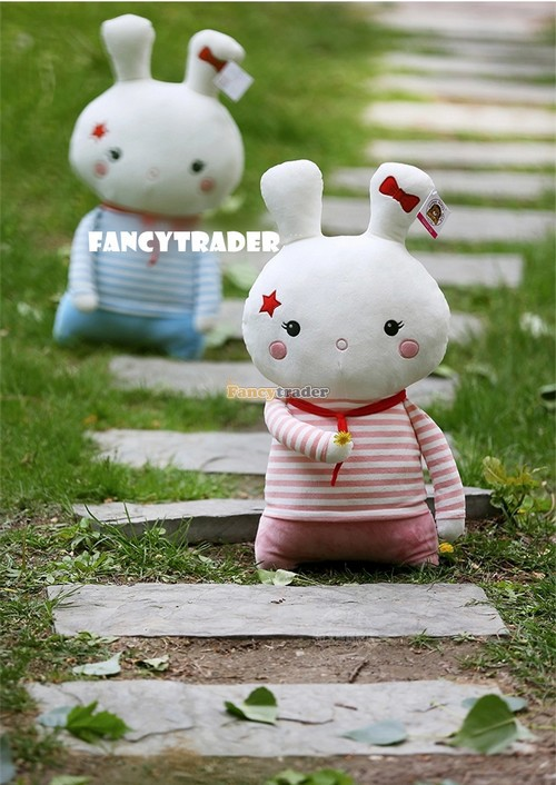 Fancytrader Very Cute Rabbit Toy 25'' 63cm Giant Plush Stuffed Rabbit Bunny Kids Gift, 2 Colors Available! Free Shipping FT90224 universal motorbike accessories motorcycle screws pike bolts for honda cb600f cb1000r cb1100 cb1100f cb1300 super four
