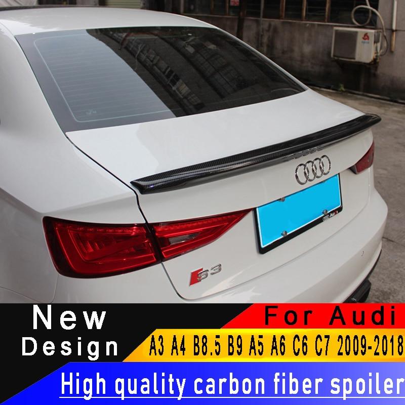 For Audi A3 A4 S4 B8 B8 5 B9 A5 A6 C6 C7 Superior quality Carbon