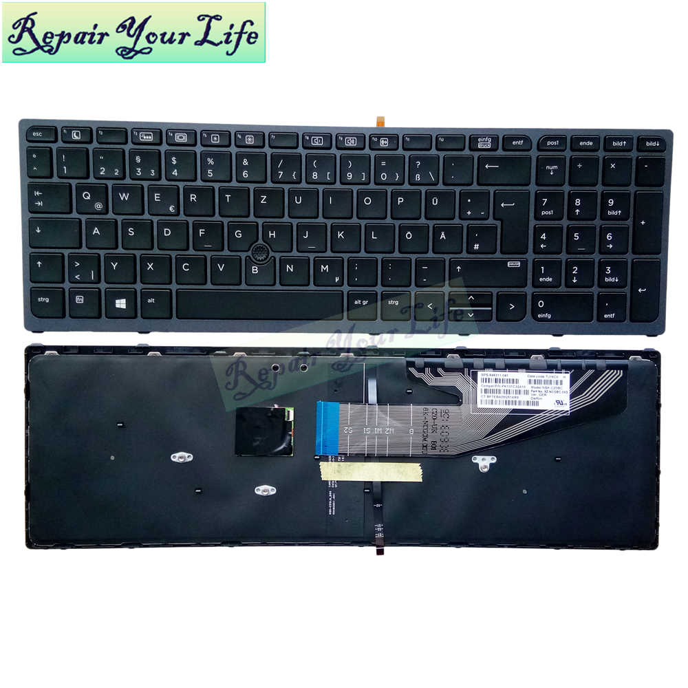 AUTENS Replacement Keyboard 20 Year Warranty for HP ProBook 20 G20 ...